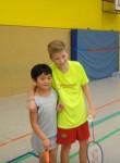 Die Badmintonabteilung empfing Gäste aus dem fernen Osten