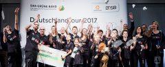 """Die Badmintonabteilung trägt nun """"das Grüne Band 2017"""""""