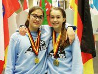 Cara und Selin dominieren die Deutschen Meisterschaften