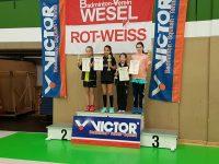 Viele Podestplätze beim Teenie Turnier in Wesel