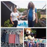 TSV auch zu Hause aktiv – heute: TSV näht MNS Schutzmasken für eine soziale Einrichtung