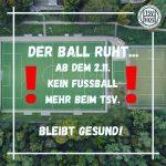 Der Ball ruht am Finkenkamp